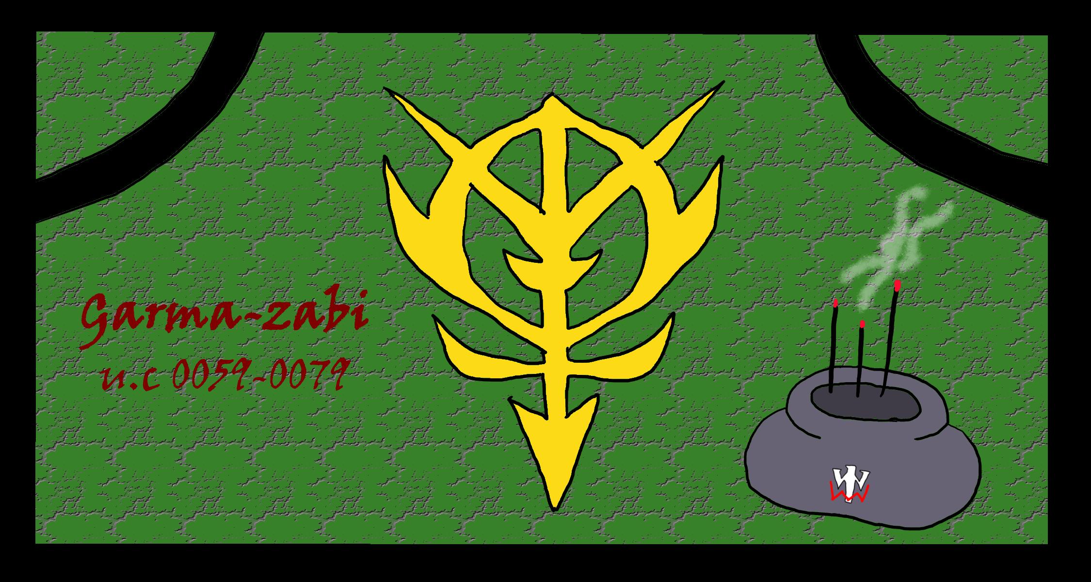 国葬 ガルマ ザビ 戦死